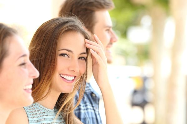 Das perfekte Lächeln