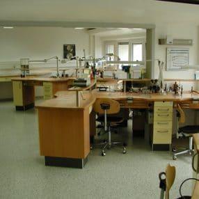 CAD-CAM Kronen und Brücken Abteilung